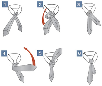 how to tie a pratt knot. Black Bedroom Furniture Sets. Home Design Ideas